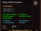 Ring of Salient Seconds
