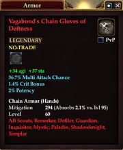 Vagabond's Chain Gloves of Deftness