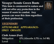 Vesspyr Scouts Green Boots