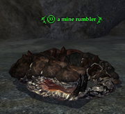 A mine rumbler