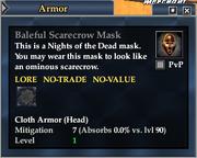 Baleful Scarecrow Mask