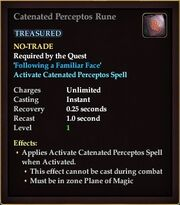 Catenated Perceptos Rune