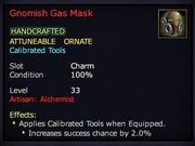 Gnomish Gas Mask