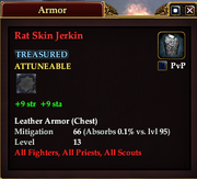 Rat Skin Jerkin