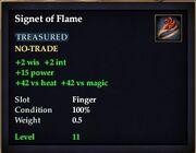 Signet of Flame