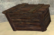 A pristine troll wooden crate (Visible)