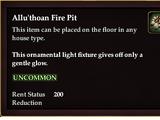 Allu'thoan Fire Pit