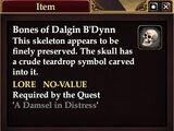 Bones of Dalgin B'Dynn