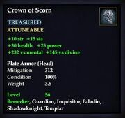 Crown of Scorn