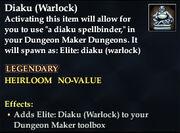 Diaku (Warlock)