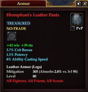 Hierophant's Leather Pants