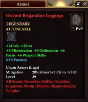 Orclord Brigandine Leggings