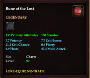 Rune of the Lost