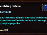 Scintillating material