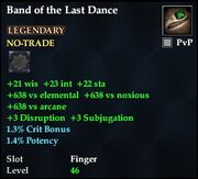 Band of the Last Dance