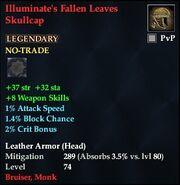 Illuminate's Fallen Leaves Skullcap