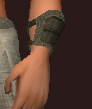 Tanned Leather Bracers (Equipped)