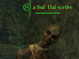 A Sul' Dal scribe (Solo)