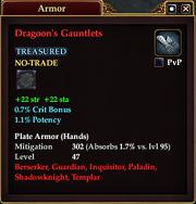 Dragoon's Gauntlets