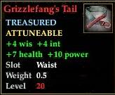 Grizzlefang's Tail