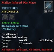 Malice Infused War Mace