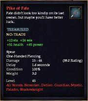 Pike of Fate