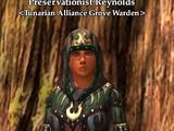 Preservationist Reynolds