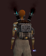 Tinkerer's Combustion Powered Backpack (equipped)