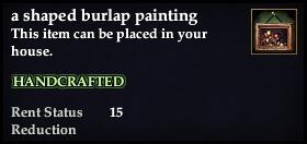 File:A shaped burlap painting.jpg
