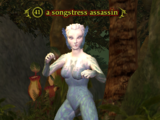 A songstress assassin
