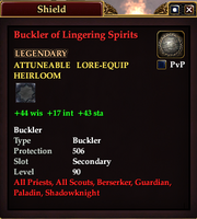 Buckler of Lingering Spirits