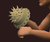 Cestus of the Crouched Hedgehog (Equipped)