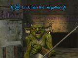 Ch'Uman the Forgotten