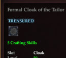 Formal Cloak of the Tailor