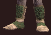 Growth Fused Boots (Equipped)