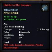 Hatchet of the Forsaken