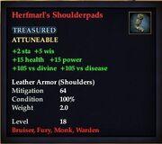 Herfmarl's Shoulderpads