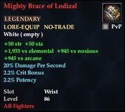 Mighty Brace of Lodizal