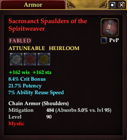 Sacrosanct Spaulders of the Spiritweaver