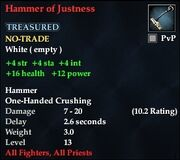 Hammer of Justness