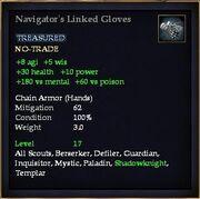 Navigator's Linked Gloves