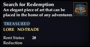 Search for Redemption