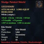 Sludge Painted Shield