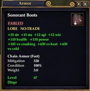 Sonorantboots