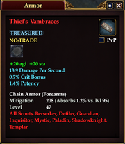 Thief's Vambraces