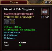Trinket of Cold Vengeance