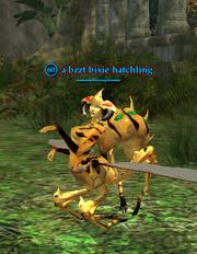 A bzzt bixie hatchling