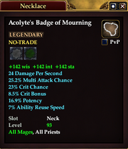 Acolyte's Badge of Mourning