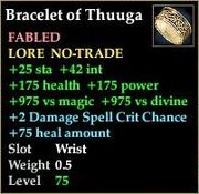 Bracelet of Thuuga