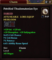 Petrified Thudomatonian Eye